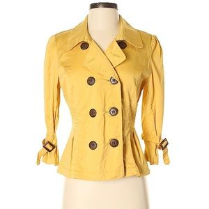 American Rag Spring Trench Fitted Blazer Jacket S